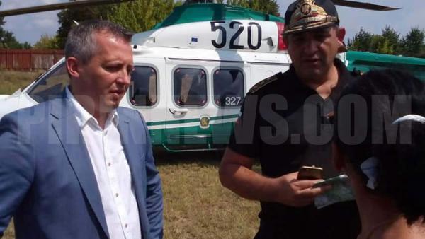 Масирана акция по въздух и земя, 20 тона канабис ожънаха за ден в Петричко