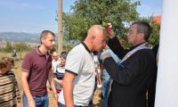 Депутат и кмет уважиха курбана в село Полето