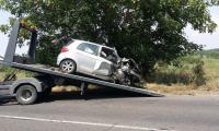 Момче и момиче загинаха при челен удар с колата си с благоевградска регистрация край Поповица
