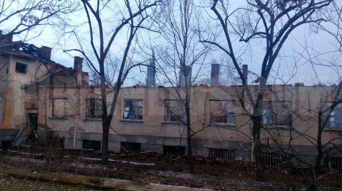 В Петрич горя имот на министерство на правосъдието