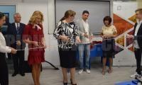 Откриха нова компютърна зала в Професионална гимназия по текстил и лека промишленост в Благоевград
